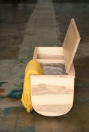 Fluyt Bench by Willow & Stump Furniture Design