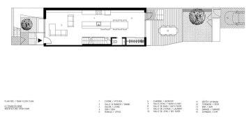 François-René project by Maître Carré & Architecture Open Form - Main Floor Plan
