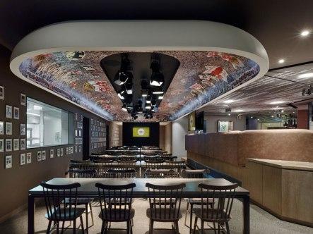 "The ""1893"" – VfB Stuttgart club restaurant by Ippolito Fleitz"
