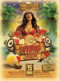 Spring Splash Flyer