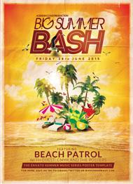 Big Summer Bash Flyer