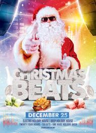 Christmas Beats Flyer