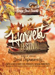 Fall Harvest Festival Flyer