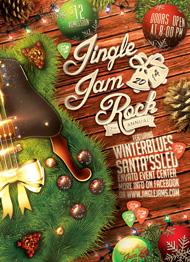 Jingle Jam Rock Flyer