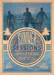 Retro Summer Flyer