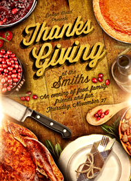 Rustic Thanksgiving Flyer