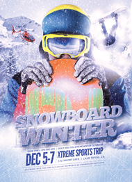 Snowboard Winter Flyer