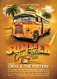 Summer Jams Tour Flyer