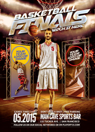 Finals Basketball Flyer