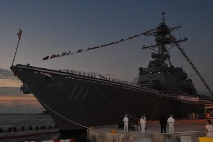 Navy Laser Ship