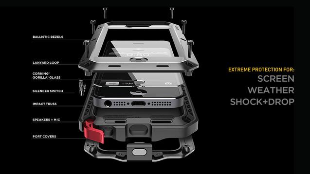separation shoes 933d6 5a090 Lunatik Taktik Extreme iPhone 5 case review - Design Engine
