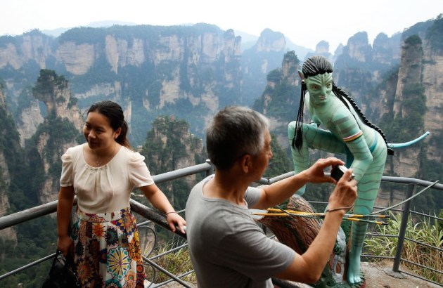 Zhangjiajie Grand Canyon was the inspiration behind James Cameron's 2009 film, Avatar  Credit: CNN