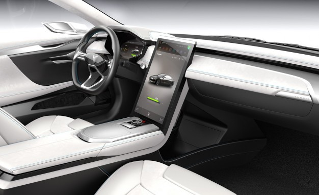 Youxia Ranger X Interior is even identical to that of Tesla.