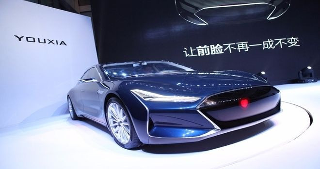 Youxia Ranger X at first glance can be mistaken for the Tesla Model S