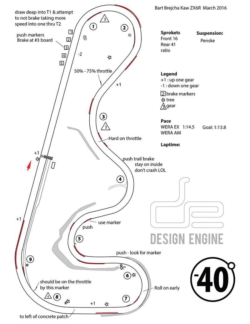 Bart Brejecha PDF map for Roebling road March 2016