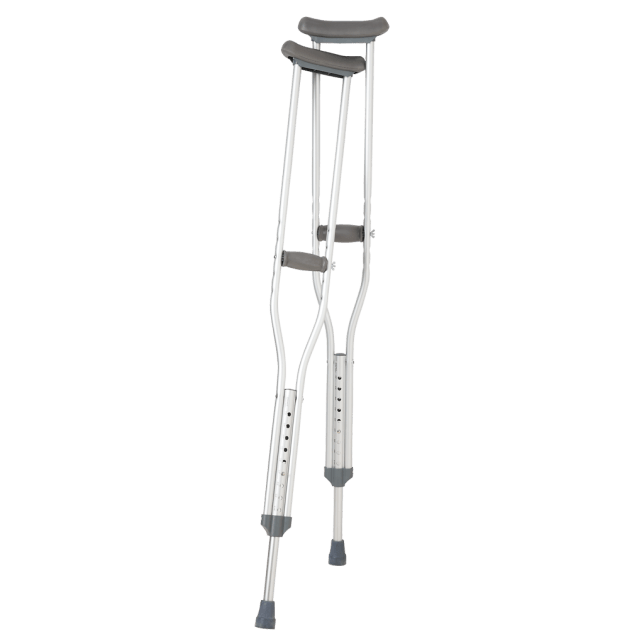Traditional crutches almost always focus on armpits