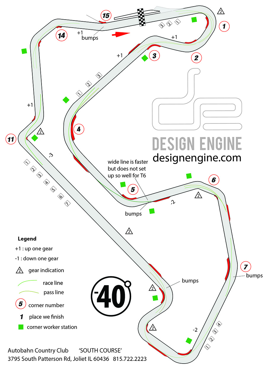 Road Racing Track Maps Design Enginedesign Engine