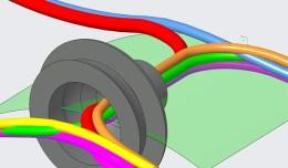 Creo Kawasaki Blinker Cable Harness