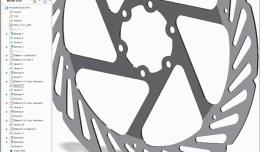 Creo Hayes Brake Rotor