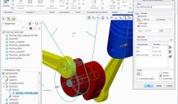 Creo Mechanism Piston & Rod
