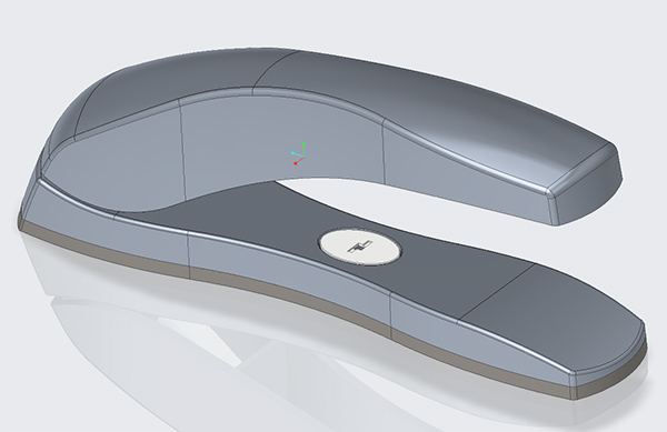 Creo Stapler created using Top down design
