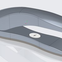 Creo Stapler created using Top down design