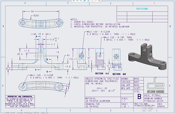 Creo Level 2 Detailed Drawing Amp Advanced Assembly