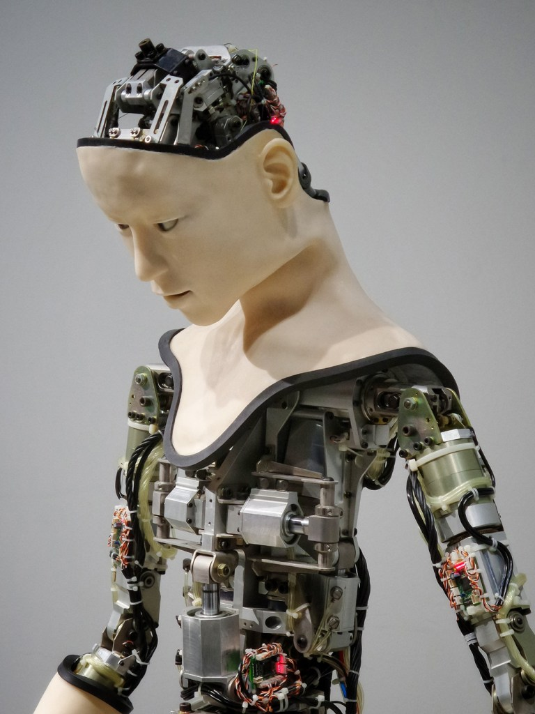 A picture of an Artificial Intelligence robot