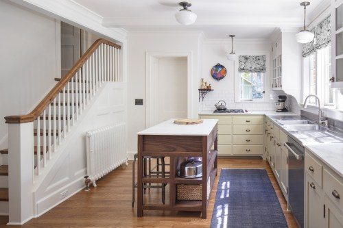small resolution of f da was asked to redesign a kitchen and breakfast area in the historic electrical house which was j c nichols first model home