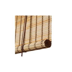 Brun natur bambus rullegardin color co 70054