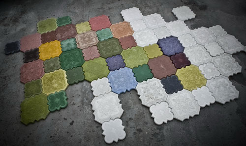 flaster camelion floor tiles 3
