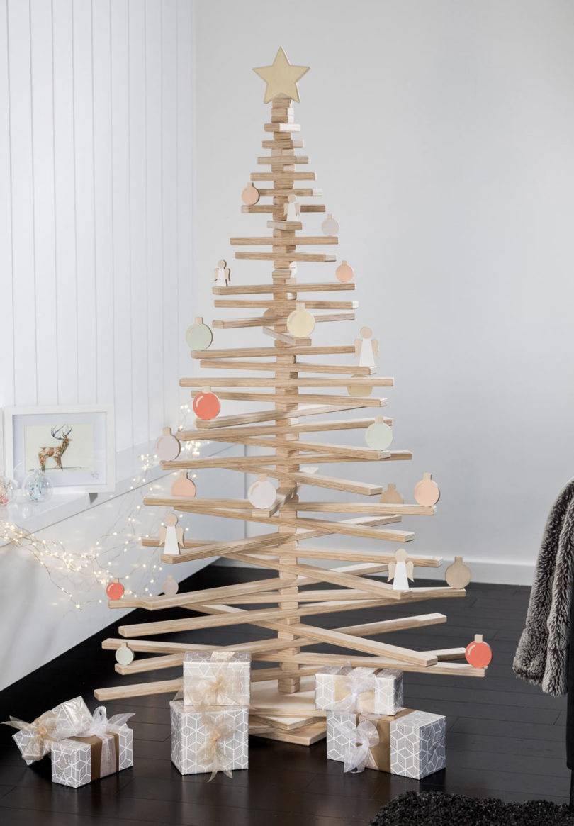 modern christmas trees design