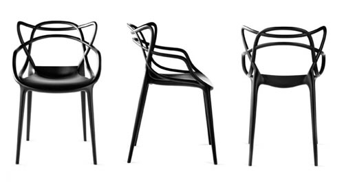 design chair kartell luxury leather office chairs uk masters milk