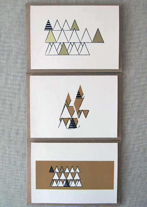 Christmas Cards By Karte Design Fabrik Design Milk
