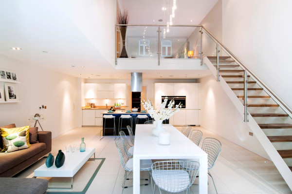 North London Townhouse Interior Design By LLI Design Design Milk