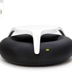 Inflatable Lawn Chair Vine Blofield Air Design Outdoor Furniture Milk Blowup 10 Donuts Original