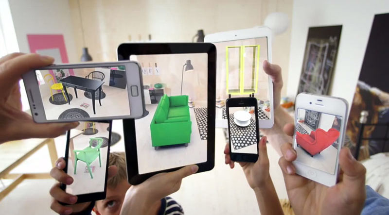 Test Drive IKEA Furniture With Augmented Reality App Design Milk