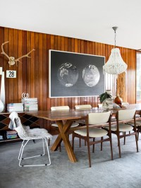 Love this wall treatment DESIGN interiors t
