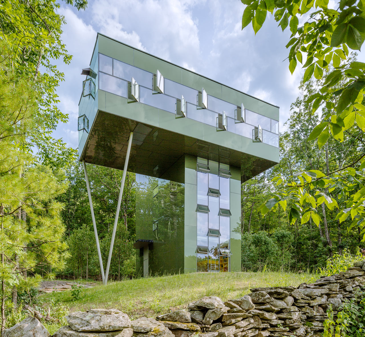 A Tower House That Leads To The Treetops Design Milk