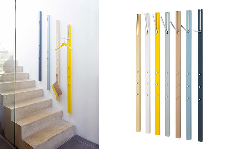 wall mounted coat storage by schonbuch