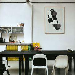 Artwork For Kitchen Aid Attachments 12 Inspiring Ways To Hang Art In The Design Milk Roundup Kitchens With