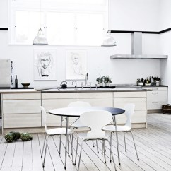 Kitchen Art Work Ikea Table And Chairs 12 Inspiring Ways To Hang In The Design Milk White Sketches