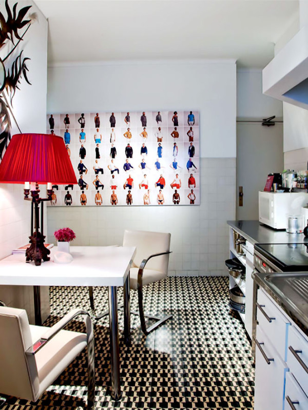 artwork for kitchen recycling bins 12 inspiring ways to hang art in the design milk photo by mati veronigue