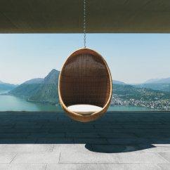 Hanging Chair Egg John Lewis Directors Covers Modern Wicker Outdoor Design Milk By Nanna Ditzel For Pierantonio Bonacina