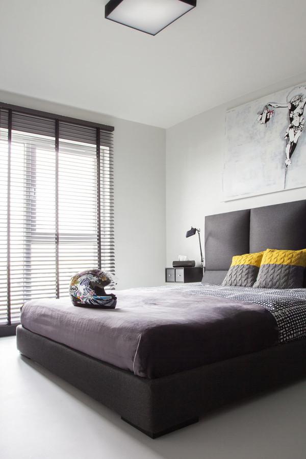A Modern Black  White Apartment in Poland  Design Milk