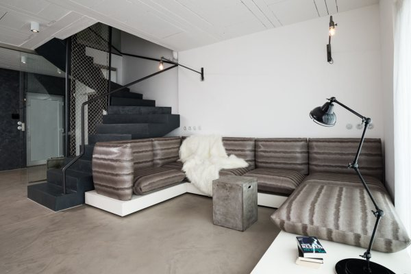 Family Home With Black & White Interior - Design Milk