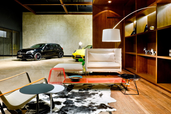 A New Type Of Showroom For Luxury Cars  Design Milk