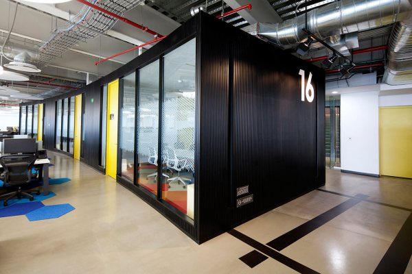 fun office design ideas A Corporate Office in Mexico City that Looks Fun to Work