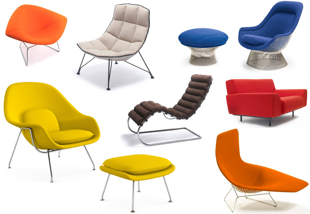 Modern Club Chairs Sitting Pretty With Knolls Modern Lounge Chairs Design Milk