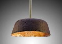 Paperlain: Paper Porcelain Pendant Lamps